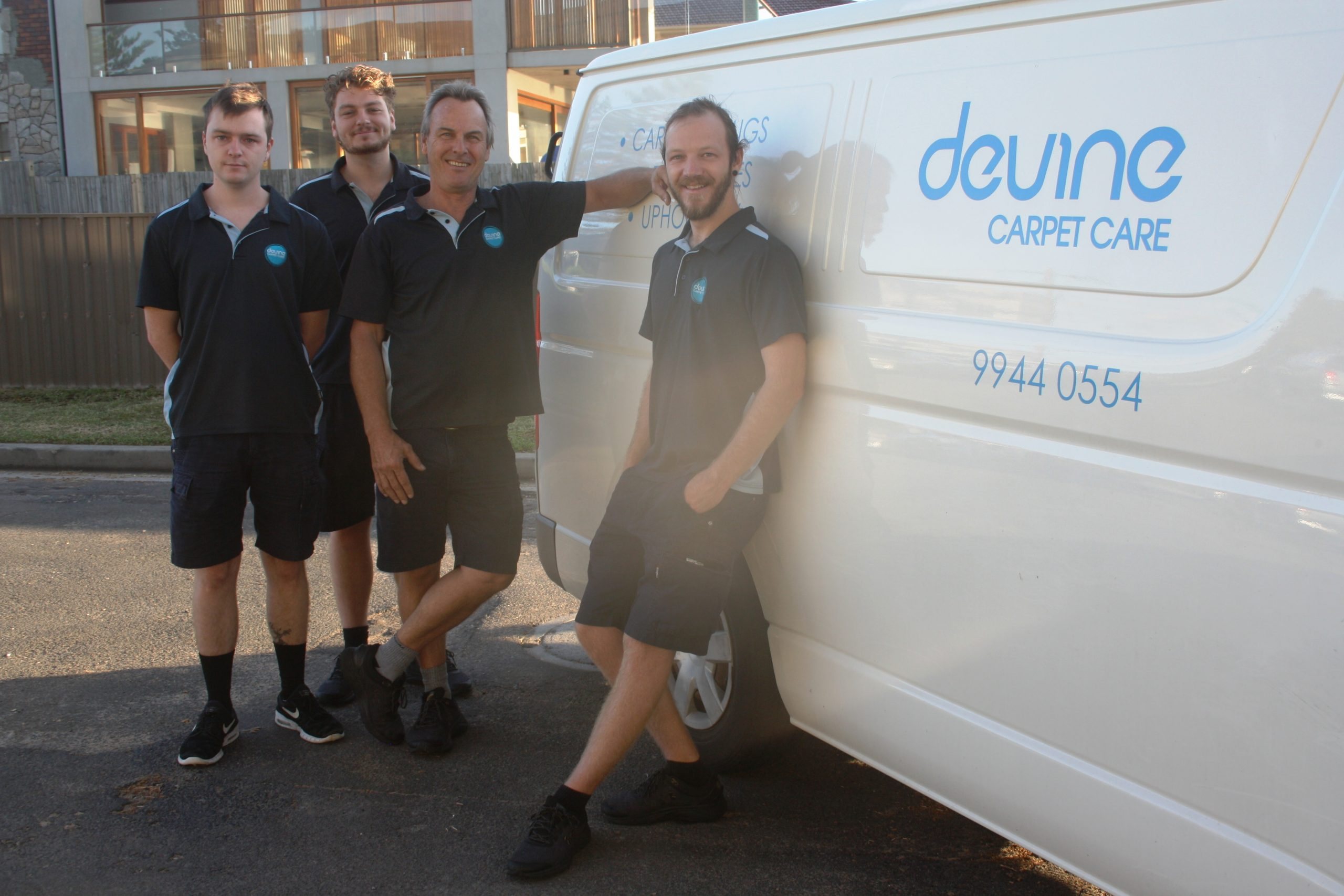 Devine Carpet Care Cleaning Team